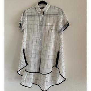 sacai - sacai トップス シースルーシャツ コレクション