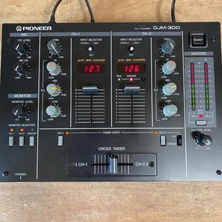 パイオニア(Pioneer)の【名機】Pioneer DJM300 黒 DJミキサー(DJミキサー)