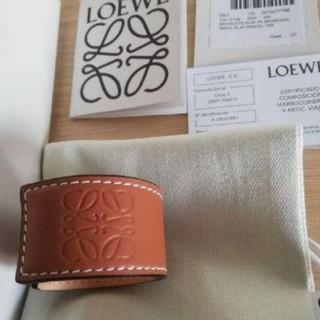 LOEWE - 【新品】LOEWEロエベ スラップブレスレット タン