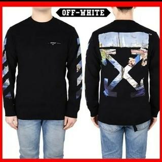 オフホワイト(OFF-WHITE)のオフホワイト OFF WHITE ロンT Mサイズ レア(Tシャツ/カットソー(七分/長袖))