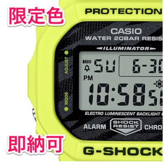 カシオ(CASIO)のG-SHOCK ライトニングイエロー DW-5600TGA-9JF 国内正規品(腕時計(デジタル))