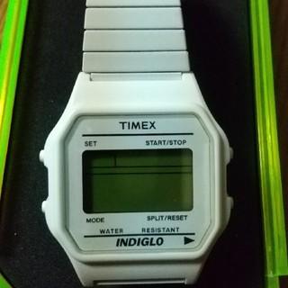 タイメックス(TIMEX)のTIMEX 80 CLASSIC  ホワイト(腕時計(デジタル))