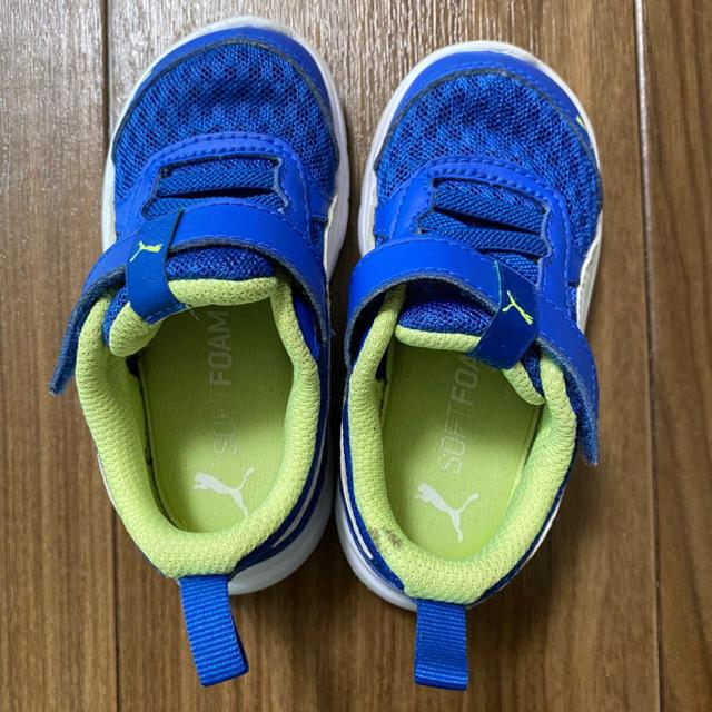 PUMA(プーマ)のPUMAキッズスニーカー(8/31まで最終値下げ) キッズ/ベビー/マタニティのベビー靴/シューズ(~14cm)(スニーカー)の商品写真