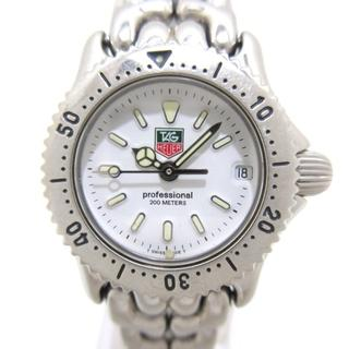 タグホイヤー(TAG Heuer)のタグホイヤー 腕時計美品  S90.808 白(腕時計)