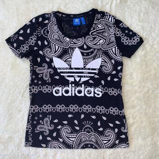 アディダス(adidas)のadidas  tops (カットソー(半袖/袖なし))