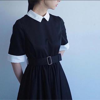 foufou THE DRESS #22 バイカラー ワンピース M+(ロングワンピース/マキシワンピース)