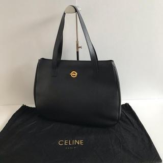 セリーヌ(celine)のCELINE セリーヌ トートバッグ レザー 黒(トートバッグ)