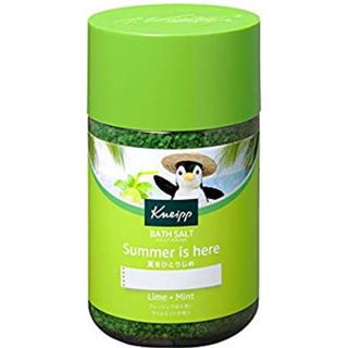 クナイプ(Kneipp)の 夏季限定• Kneip クナイプ バスソルト ライムミントの香り(850g)(入浴剤/バスソルト)