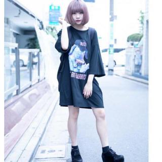 ミルクボーイ(MILKBOY)のMILKBOY ミルクボーイ     FAT BUNNY TEE  ブラック(Tシャツ/カットソー(半袖/袖なし))