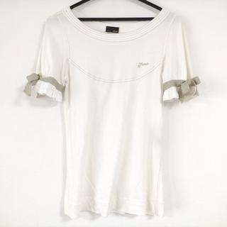 フェンディ(FENDI)のフェンディ 半袖カットソー サイズ42 M(カットソー(半袖/袖なし))