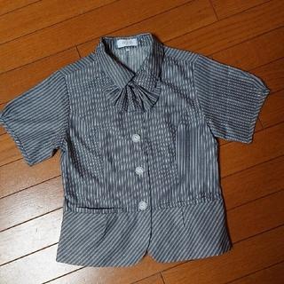 エンジョイ(enjoi)の事務服  オーバーブラウス(シャツ/ブラウス(半袖/袖なし))