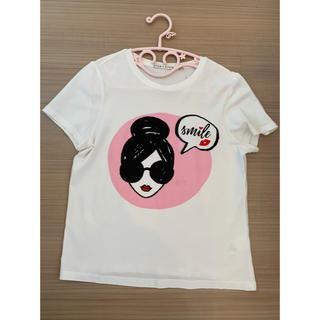 アリスアンドオリビア(Alice+Olivia)のステイシーフェイスTシャツ(Tシャツ(半袖/袖なし))