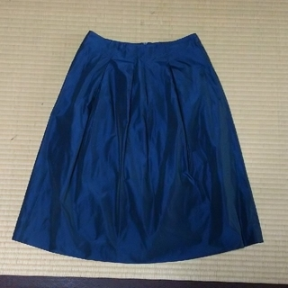 アンタイトル(UNTITLED)のUNTITLED ecle スカート サイズ36(ひざ丈スカート)