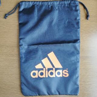アディダス(adidas)のアディダス シューズケース ブラック(シューズバッグ)