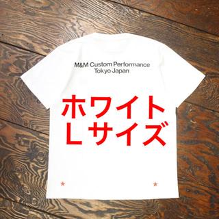 エムアンドエム(M&M)の【新品未使用】m&m custom performanceプリントTホワイト L(Tシャツ/カットソー(半袖/袖なし))