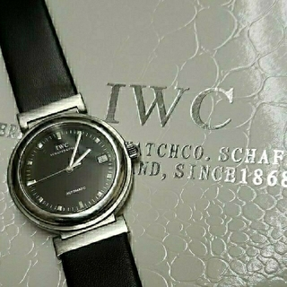 インターナショナルウォッチカンパニー(IWC)の最終値下げ IWC  ダ・ヴィンチ SL  自動巻き(腕時計(アナログ))