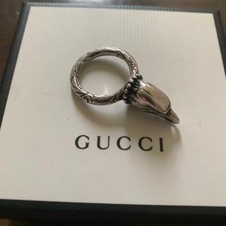 グッチ(Gucci)の確実正規品 GUCCI イーグルリング 14号 SV925(リング(指輪))
