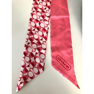 コーチ(COACH)の♡COACH スカーフ♡ 新品未使用♡(バンダナ/スカーフ)