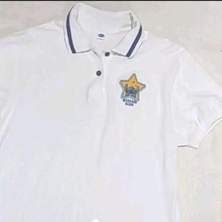 ディズニー(Disney)の白ポロシャツ スティッチ(ポロシャツ)