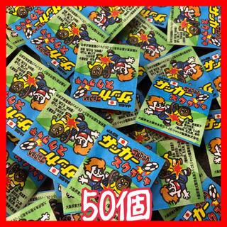 ★ジャック★金券付き駄菓子★サッカースクラッチ(サカスク)50個❣️(菓子/デザート)