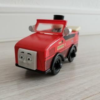 フィッシャープライス(Fisher-Price)の木製 トーマス ウィンストン(電車のおもちゃ/車)