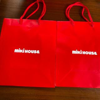 ミキハウス(mikihouse)のミキハウス 紙袋 1枚(ショップ袋)