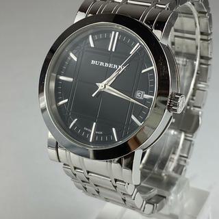 バーバリー(BURBERRY)の【電池交換済】バーバリー メンズ 腕時計 BU1364 ブラック(腕時計(アナログ))