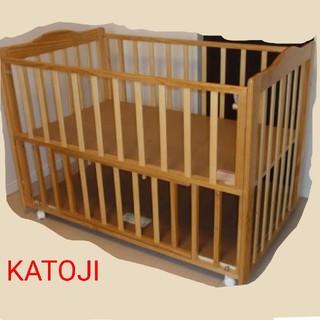 カトージ(KATOJI)のKATOJI ベビーベッド【中古】(ベビーベッド)