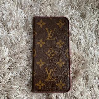 ルイヴィトン(LOUIS VUITTON)のルイヴィトン iPhoneX・XSフォリオ アイフォンケース(iPhoneケース)