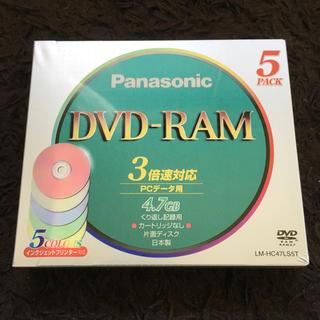 パナソニック(Panasonic)のPanasonic DVD-RAM 5枚組 LM-HC47LS5T(PC周辺機器)