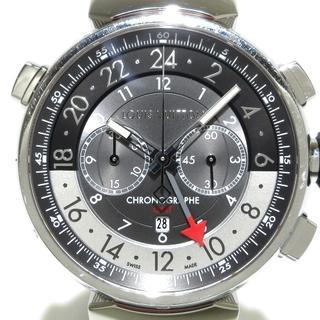 ルイヴィトン(LOUIS VUITTON)のヴィトン 腕時計 Q1A40 メンズ グレー(その他)