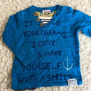 ブランシェス(Branshes)のブランシェス 長袖Tシャツ80cm(Tシャツ)