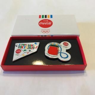 コカコーラ(コカ・コーラ)の2020東京オリンピック コカコーラ スポーツクライミングピンバッチ(その他)