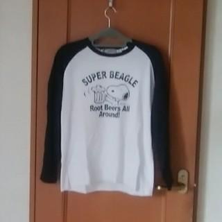 ピーナッツ(PEANUTS)の長袖Tシャツ(Tシャツ/カットソー(七分/長袖))