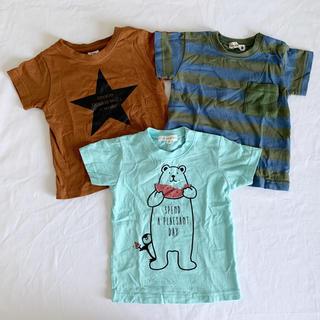 ブランシェス(Branshes)の(80cm)Branshes▲Tシャツ3枚セット(Tシャツ)