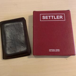 ホワイトハウスコックス(WHITEHOUSE COX)のセトラー (SETTLER)名刺入れ/ケース(名刺入れ/定期入れ)