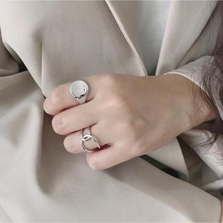 ザラ(ZARA)のラウンドボックス シルバー 925 メタル  リング(リング(指輪))