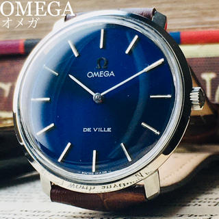 オメガ(OMEGA)のOH済★美品★オメガ デビル アンティーク 腕時計 メンズ 1970年代 手巻き(腕時計(アナログ))