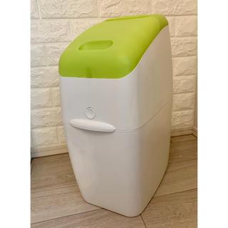 アップリカ(Aprica)のアップリカ 赤ちゃん おむつゴミ箱 爽やかなグリーン(紙おむつ用ゴミ箱)