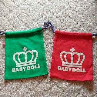 ベビードール(BABYDOLL)のBABY DOLL 巾着ポーチ(ポーチ)