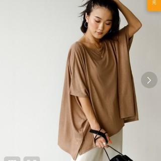 トゥデイフル(TODAYFUL)のholiday完売ルーズポンチョTシャツ(Tシャツ/カットソー(半袖/袖なし))