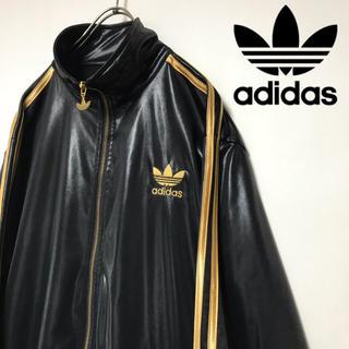 adidas - 美品 adidas アディダス ジャージ トラックジャケット 黒x金 ATP