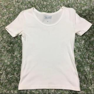ドアーズ(DOORS / URBAN RESEARCH)のアーバンリサーチ 購入 白Tシャツ FORK&SPOON フォークアンドスプーン(Tシャツ/カットソー)