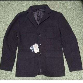 ムジルシリョウヒン(MUJI (無印良品))のウールジャケット ダークブラウン S(ダウンベスト)