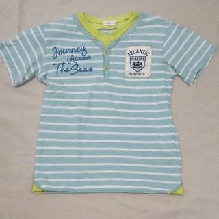 サンカンシオン(3can4on)の3can4onサンカンシオン レイヤード風半袖Tシャツ キッズ140(Tシャツ/カットソー)