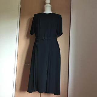 ソワール(SOIR)の東京ソワール 13号ロングワンピース ブラックフォーマル13号(礼服/喪服)
