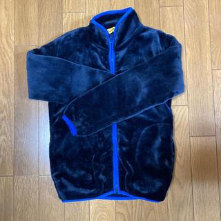 シマムラ(しまむら)のフリースもふもふジャケット130センチ(ジャケット/上着)