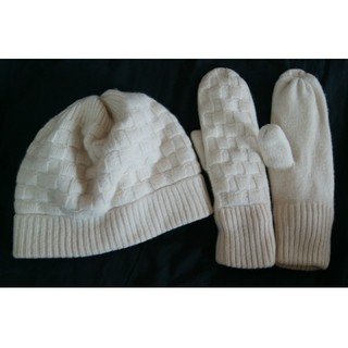 ユニクロ(UNIQLO)のユニクロUニット帽手袋(手袋)