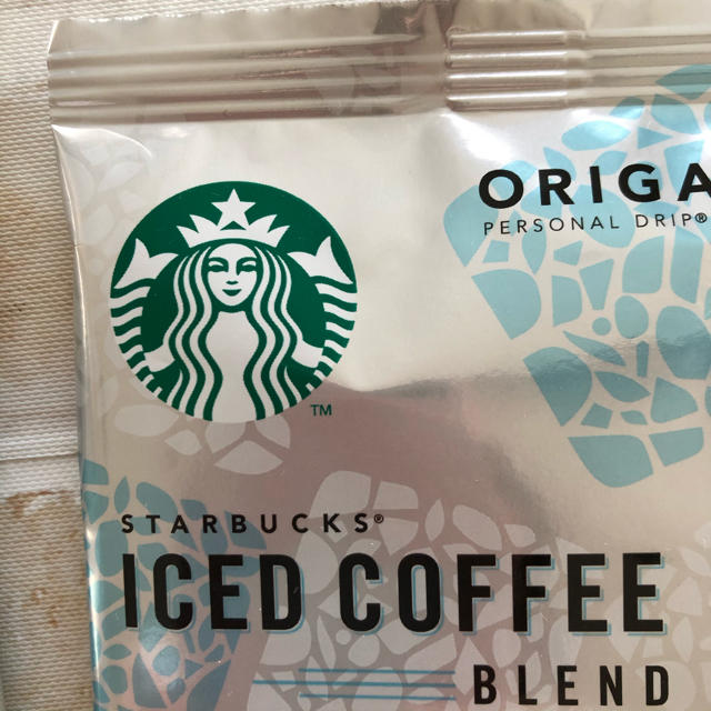 Starbucks Coffee(スターバックスコーヒー)のスターバックスコーヒー アイスコーヒーブレンド ドリップコーヒー お試し6袋 食品/飲料/酒の飲料(コーヒー)の商品写真