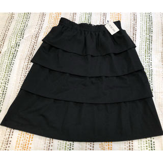 トゥービーシック(TO BE CHIC)の40 ブラックスカート(ひざ丈スカート)